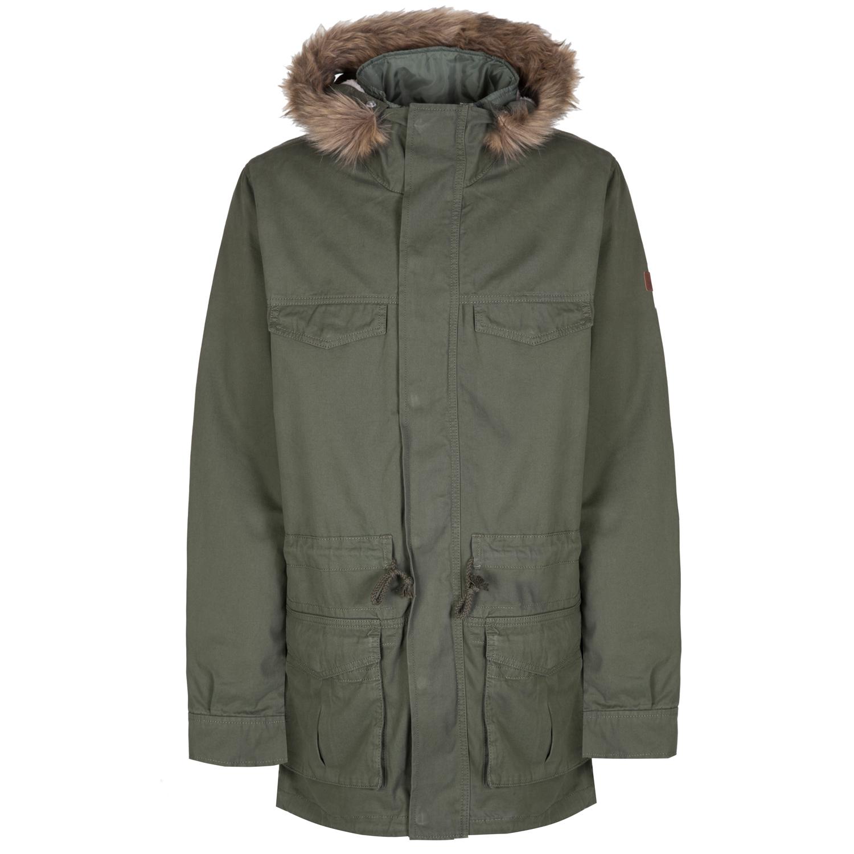 adidas neo mens padded parka coat fur hooded winter parker. Black Bedroom Furniture Sets. Home Design Ideas