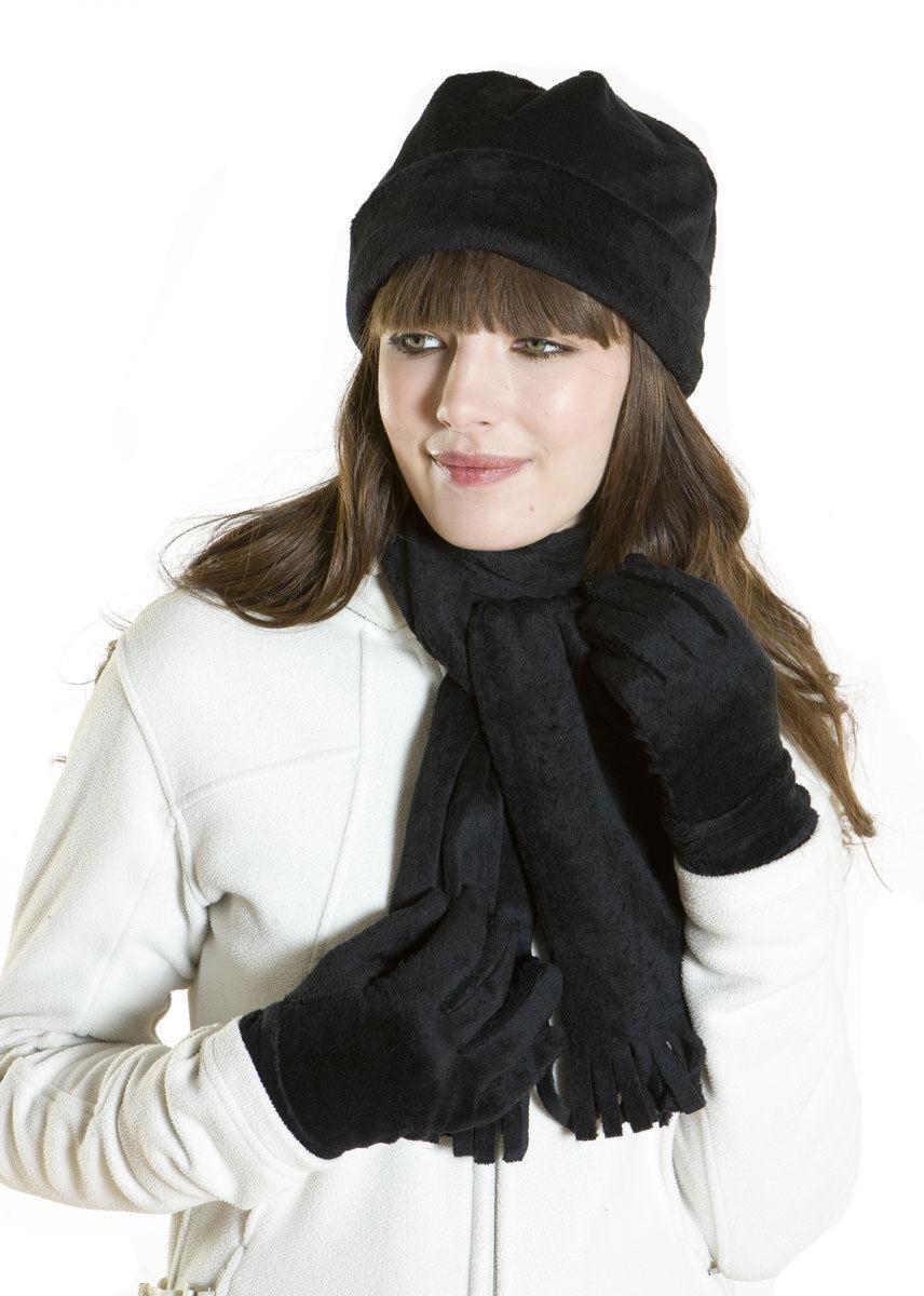 i smalls s lancaster soft velour fleece hat scarf
