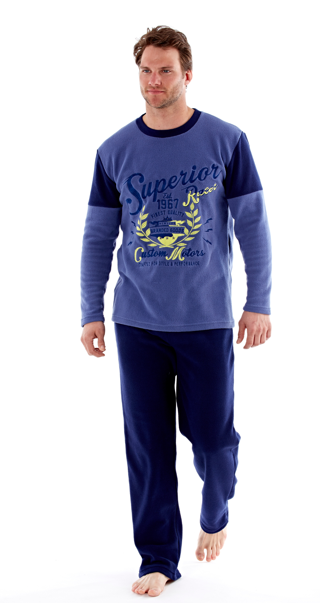 i-Smalls Men/'s Superior Warm Winter Pyjamas Perfect Gift For Him  up to 2XL
