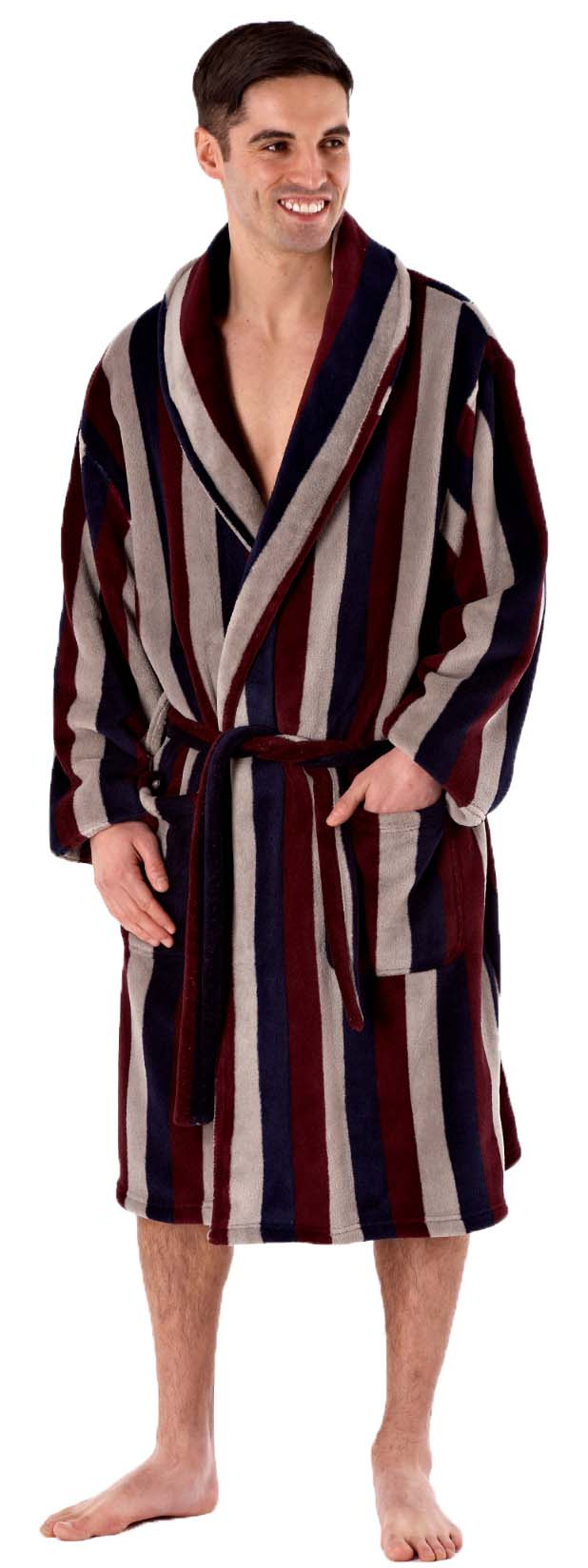 Shop our collection of bathrobes for men. Choose our Plush, Spa, Terry, or Hooded Style of Robes. With 8 sizes for men, easy to care fabrics, and an industry best day hassle-free return policy, you'll find the perfect men's robes here.