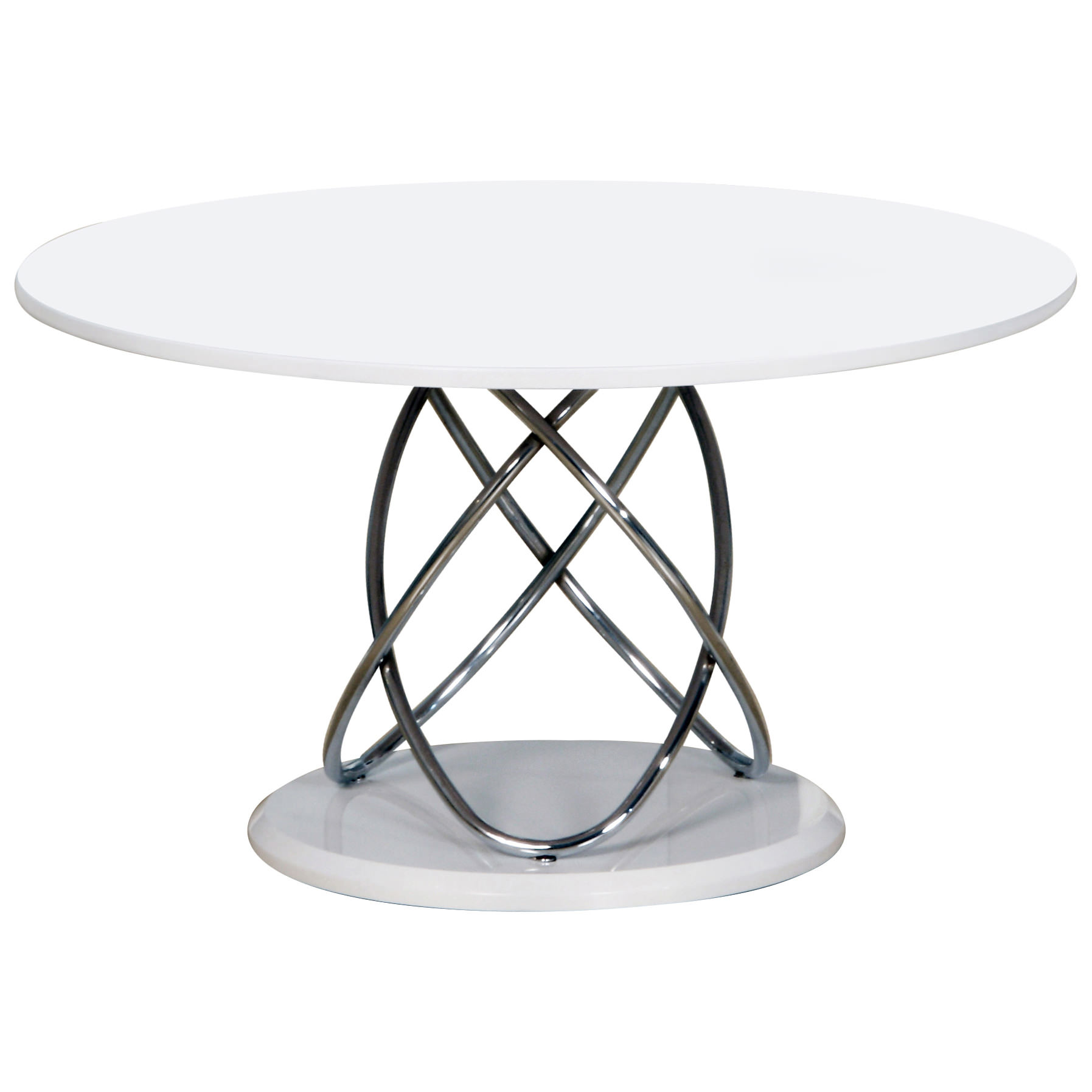 Chrome glass metal oval coffee table clear black white for Oval glass coffee table
