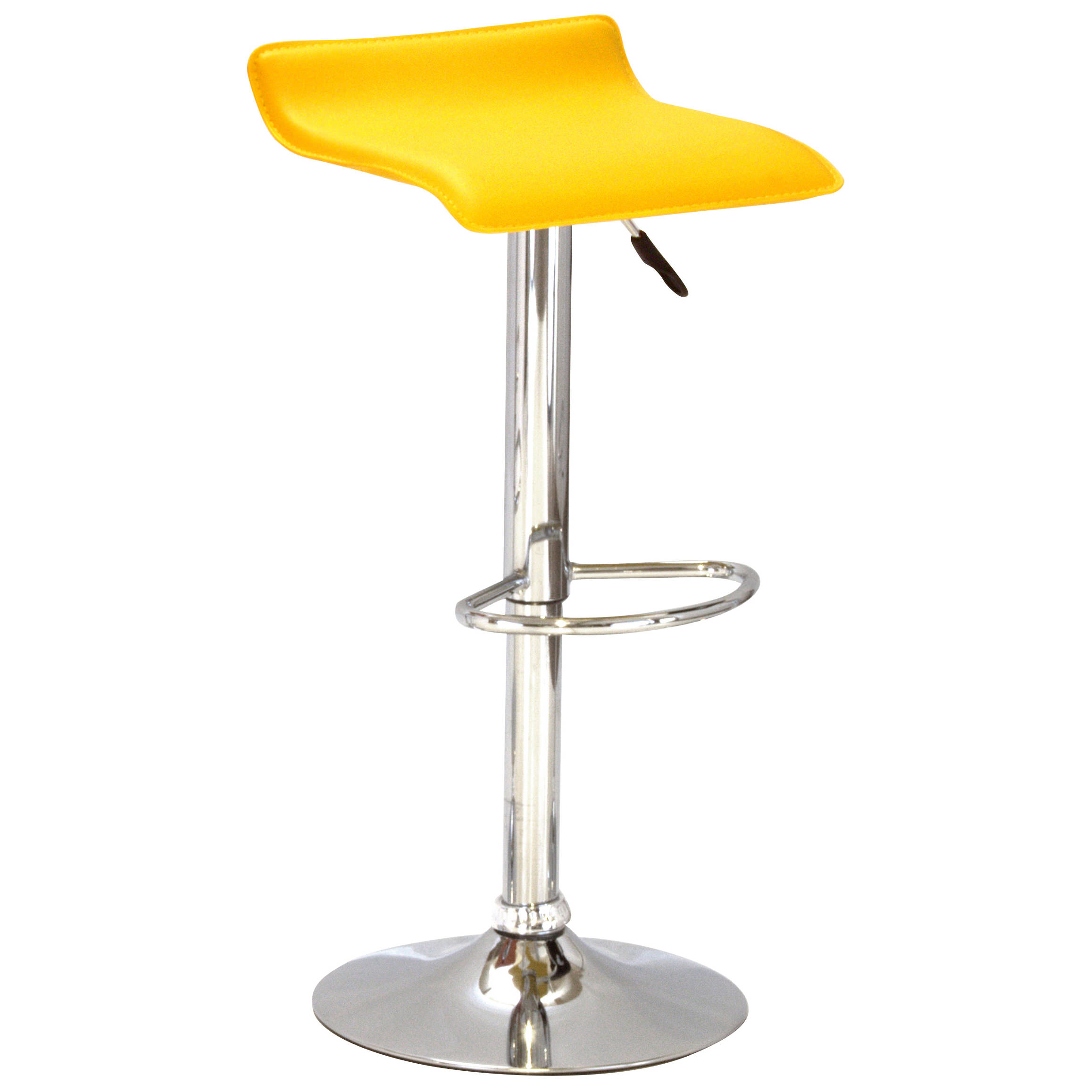 2x Kitchen Breakfast Bar Stool Seat Barstool Black Green  : h1153barstoolchromemodel8yellowx21 from www.ebay.co.uk size 2315 x 2315 jpeg 193kB