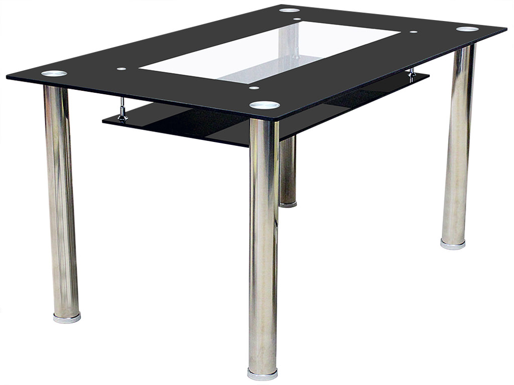chrome glass dining table small large ebay