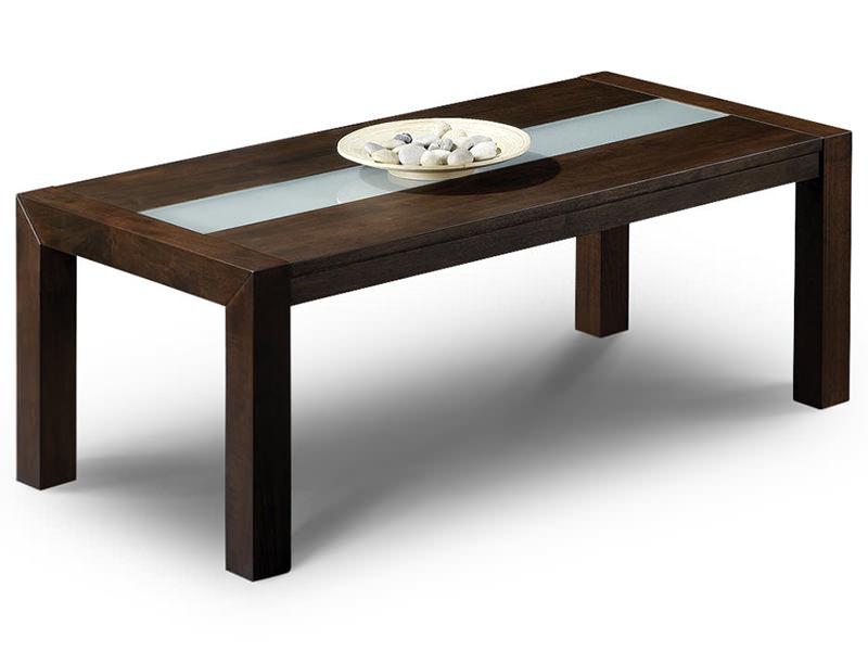 Wenge Finish Wood Rectangle Coffee Table Ebay