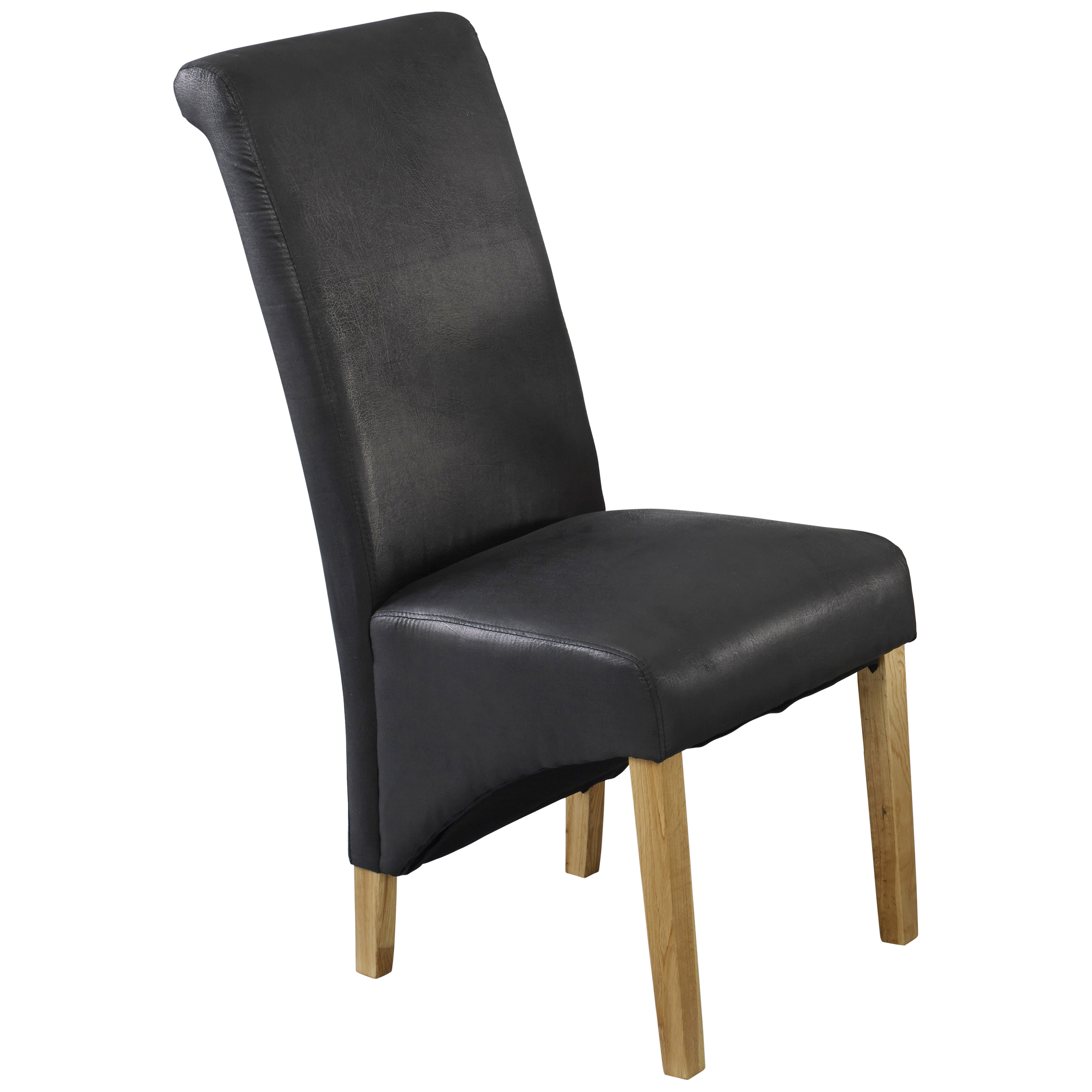 Pack of 2 Faux Leather Dining Seat Chair Black Brown eBay : l630trevisodiningchairpackof2black1 from www.ebay.co.uk size 3072 x 3072 jpeg 1466kB