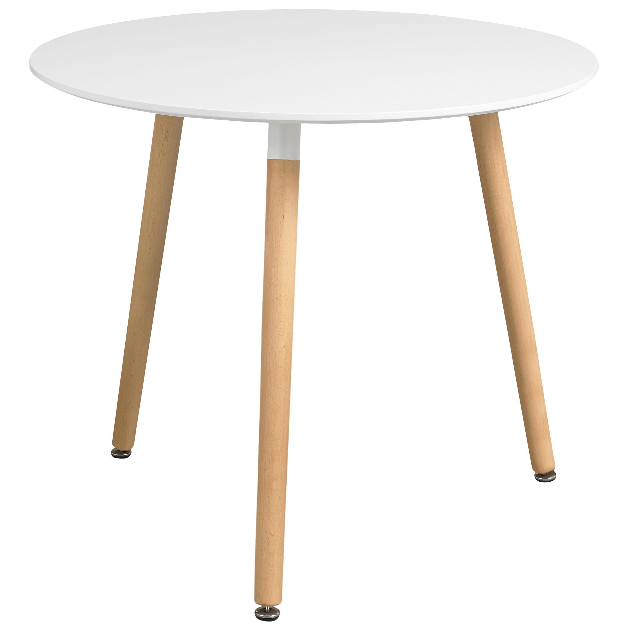 Painted Finish Round Dining Table Black White eBay : l721orlydiningtablewhite1 from www.ebay.co.uk size 2086 x 2086 jpeg 139kB