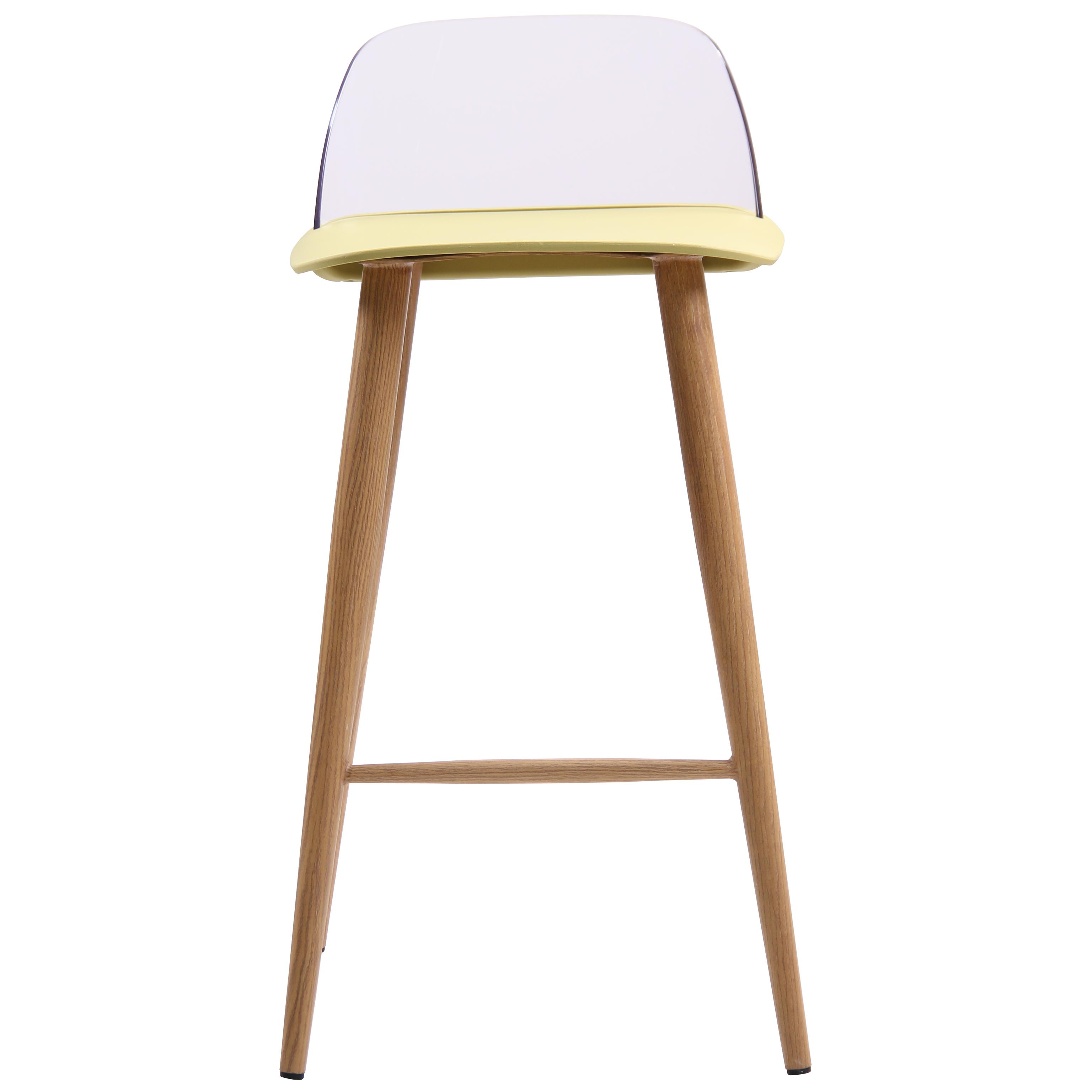 Green Kitchen Stools: 2x Oak Kitchen Breakfast Bar Stool Seat Barstool