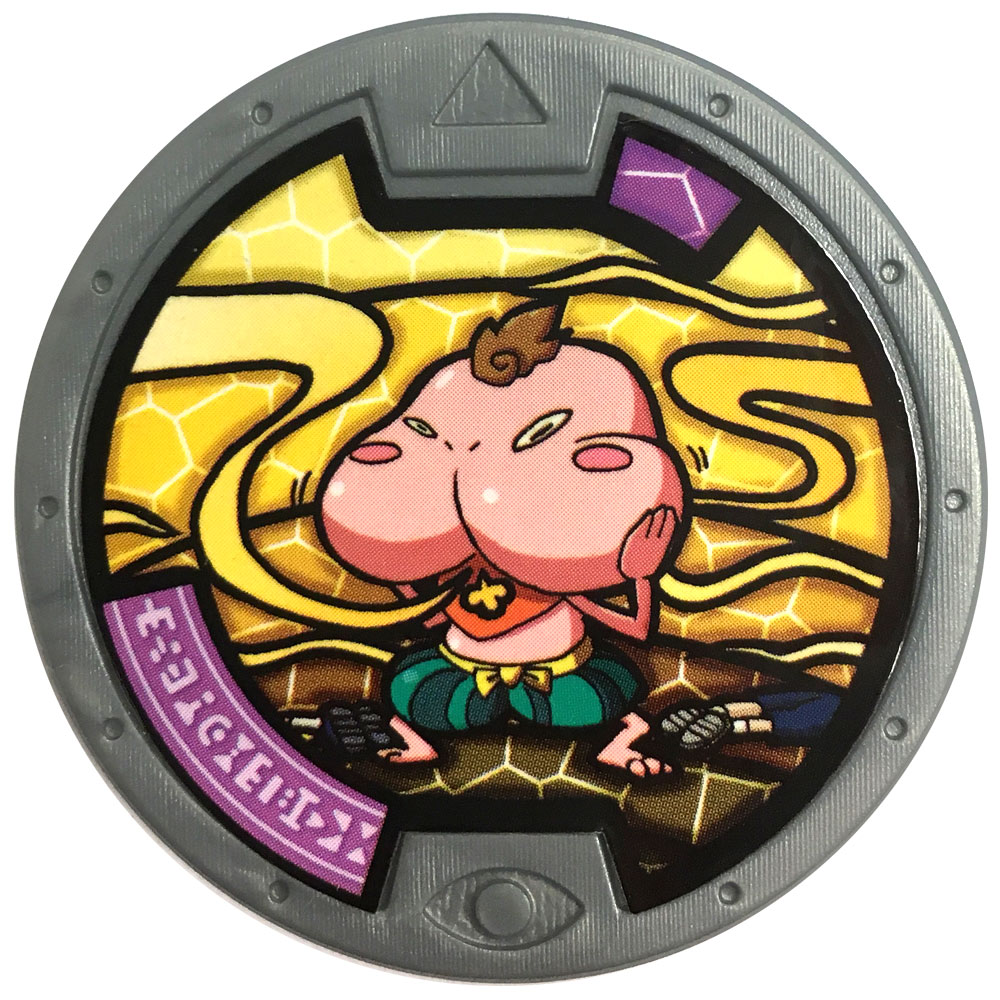 Yo kai watch series 2 medal eerie cheeksqueek for Decoration yo kai watch