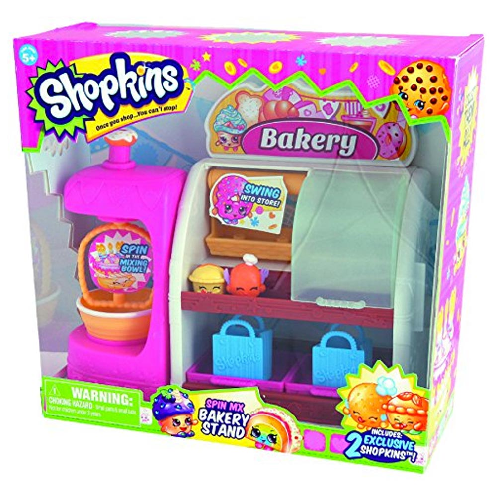 Shopkins Season  Playset Cake Stand