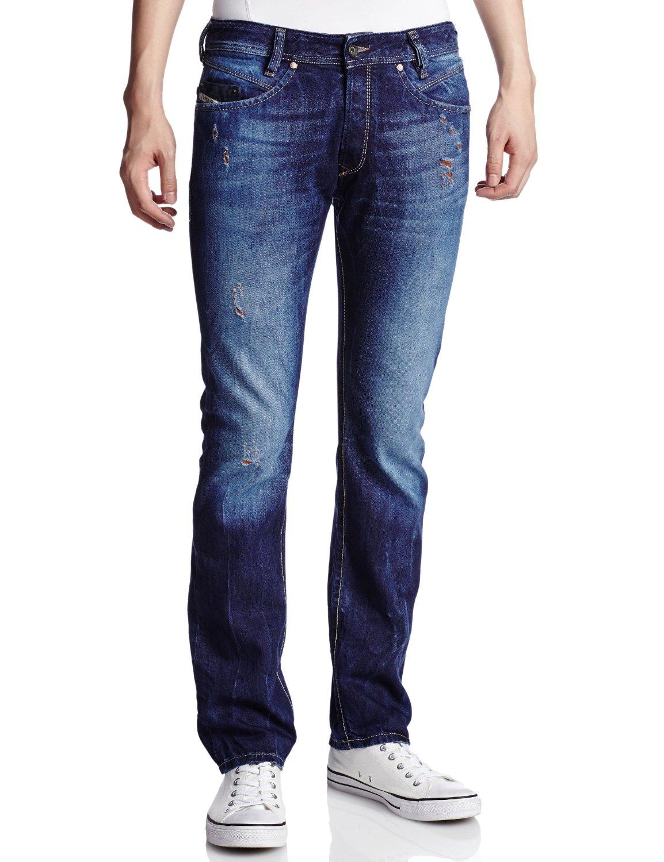diesel jeans iakop 815k regular slim fit tapered leg 0815k ebay. Black Bedroom Furniture Sets. Home Design Ideas