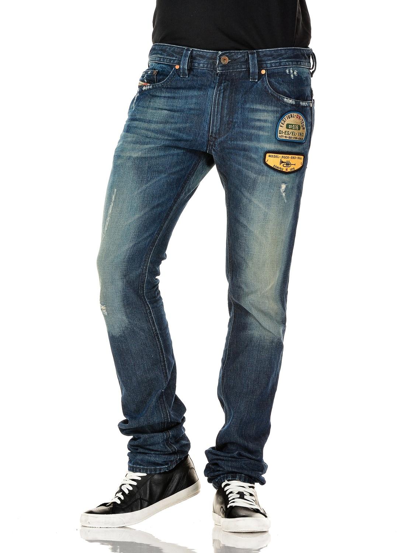 diesel jeans thavar 882r skinny fit straight leg 0882r cad picclick ca. Black Bedroom Furniture Sets. Home Design Ideas