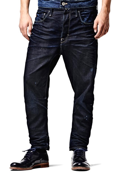 g star jeans type c dk aged loose fit tapered leg geo. Black Bedroom Furniture Sets. Home Design Ideas