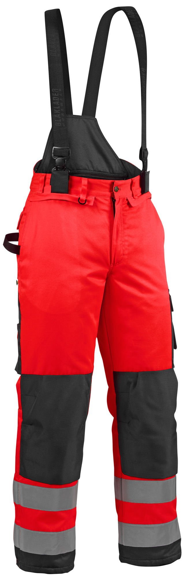 Blaklader Hi Vis Winter Trousers with Kneepad Pockets(Polyester)-18851977