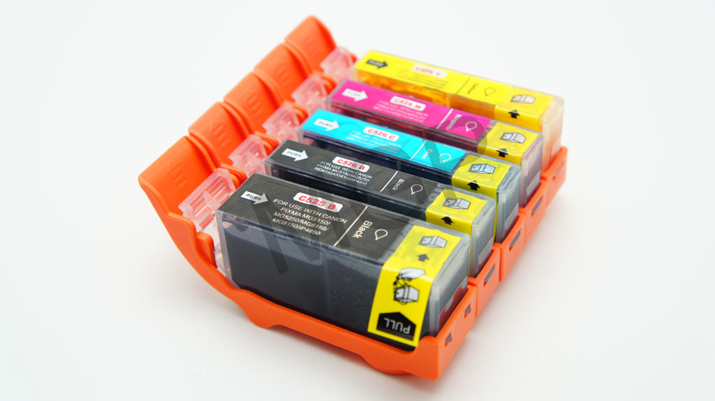 10X INK Cartridge PGI 525 CLI 526 FOR Canon Pixma IP4800 ...