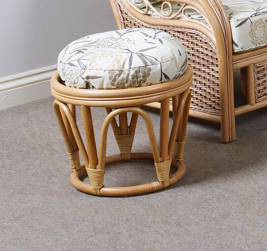 Cane And Rattan Conservatory Furniture About Brisbane Conservatory Cane Furniture Round Rattan Footstool