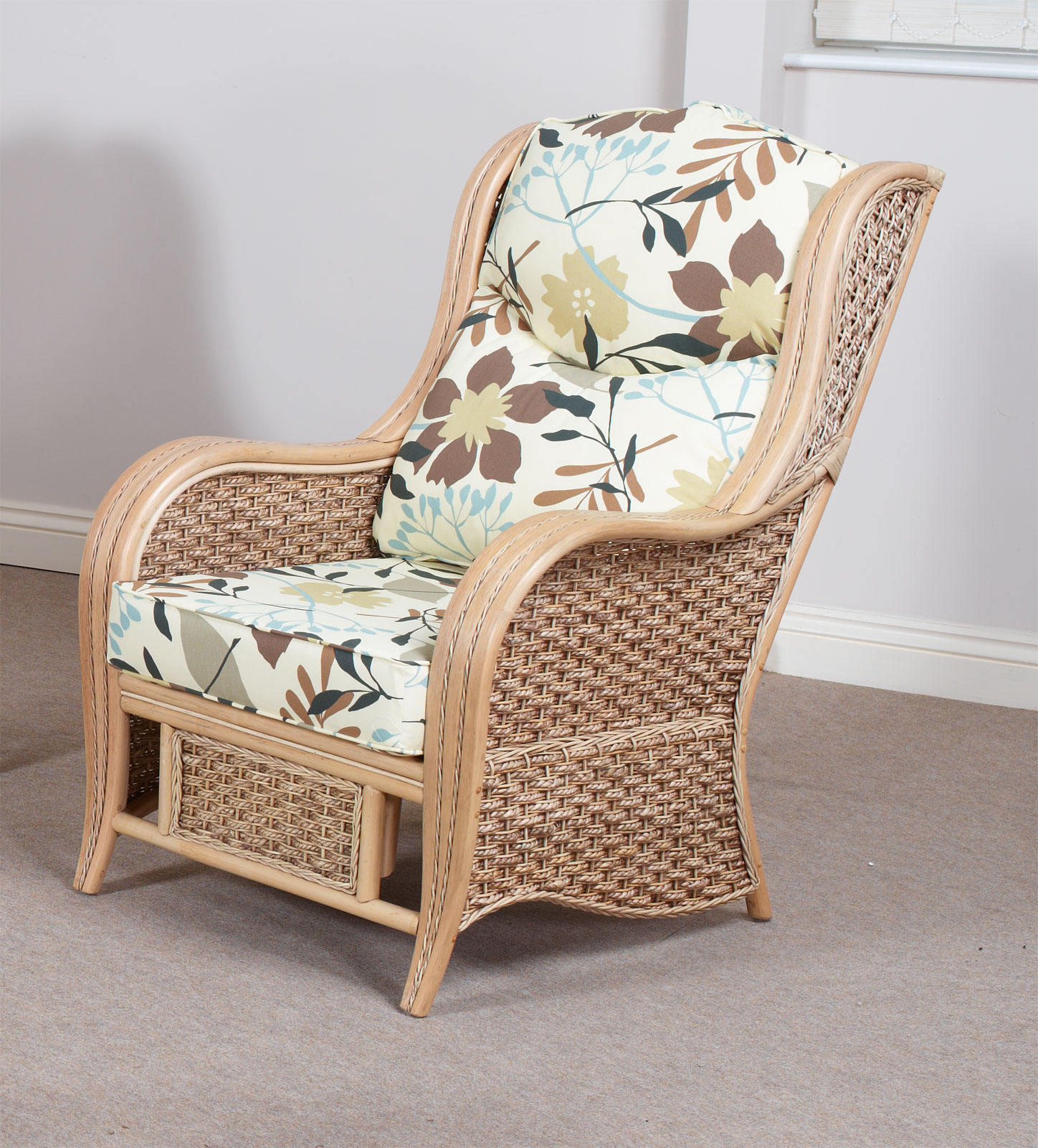 Ohio Conservatory Cane Furniture Single Chair Armchair