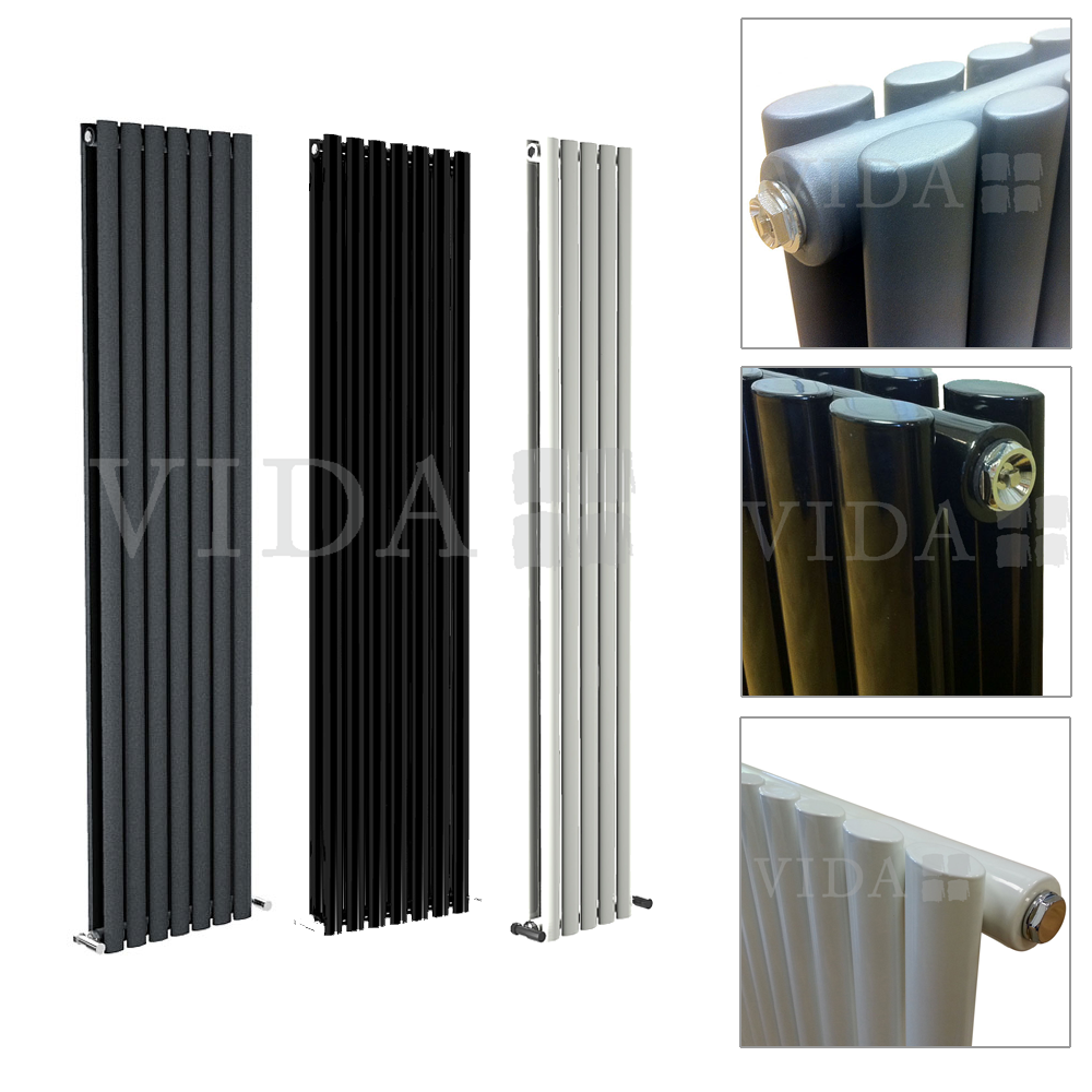 New Puro Vertical Designer Radiator Tall Upright