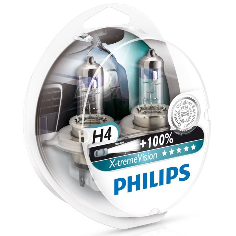 PHILIPS-X-TREME-VISION-H4-CAR-HEADLIGHT-GLOBES