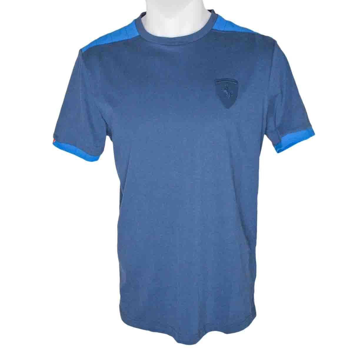 Puma Ferrari Mens Small Shield T Shirt Size Uk Xs Xxl Ebay