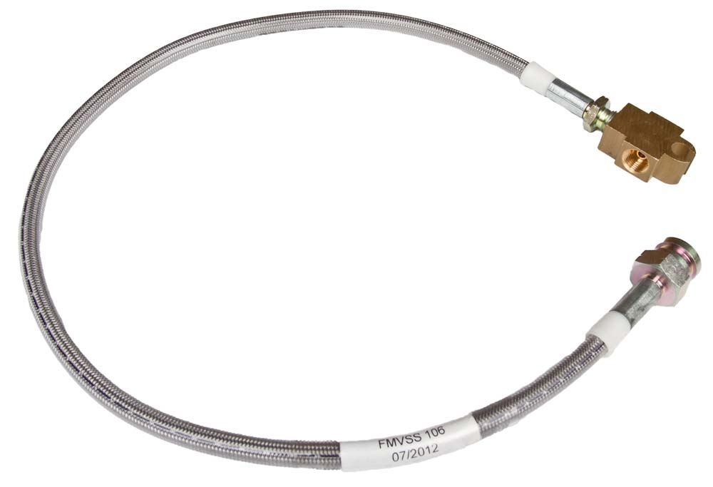 NISSAN-GU-PATROL-NON-ABS-FRONT-BRAIDED-BRAKE-LINE-TO-SUIT-5-6-LIFT-ADR-APPROVED