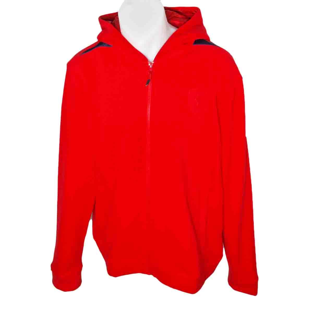 Puma Ferrari Mens Hooded Sweat Jacket Size Uk Xl New Ebay
