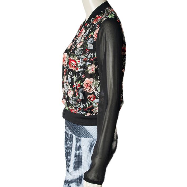 veste adidas fleur