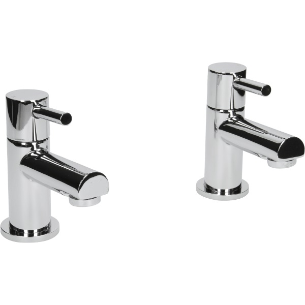 modern chrome single lever bathroom sink basin mixer bath filler shower tap ebay