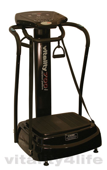 Vitality 700i Vibration Platform with Arm Straps