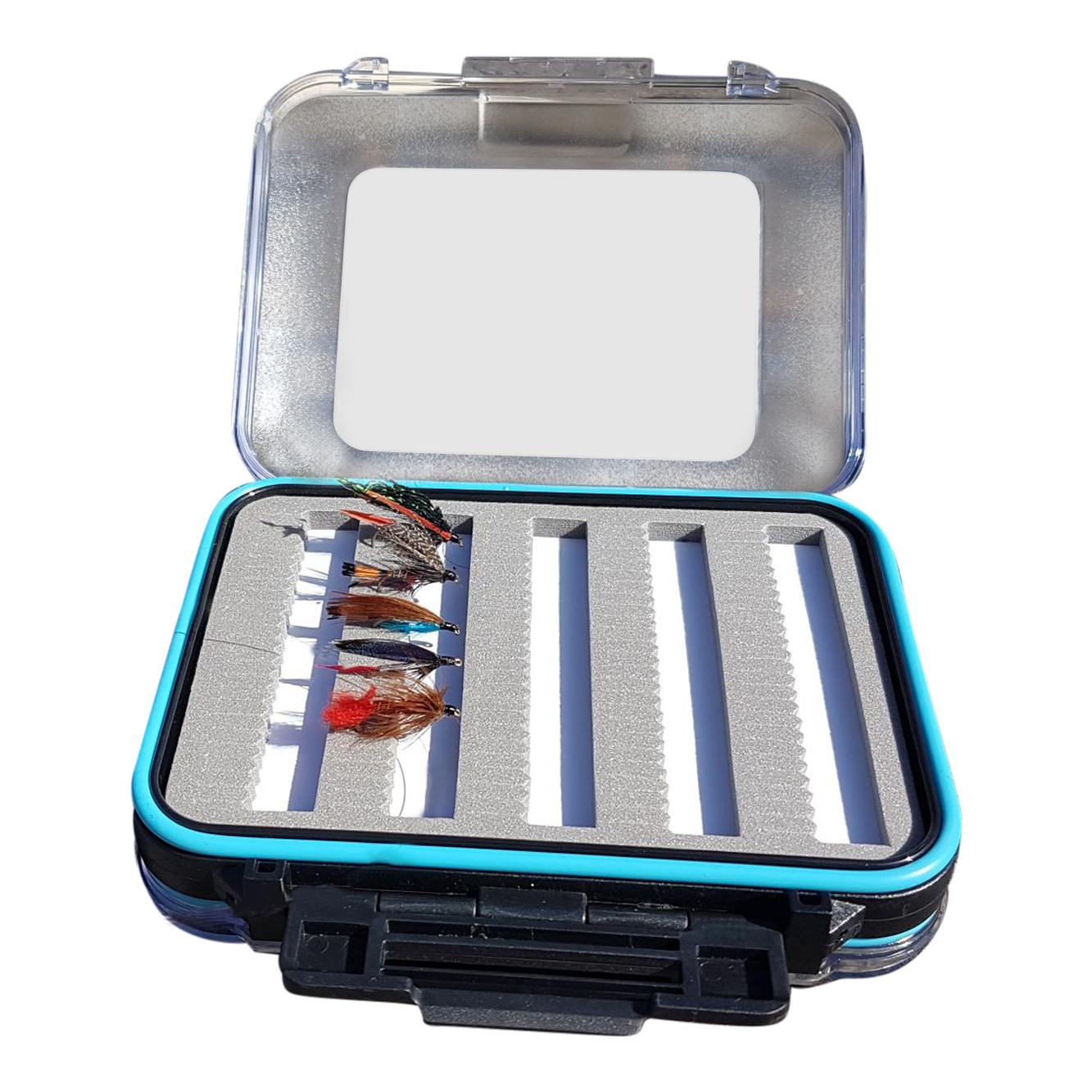 Starter beginners fly fishing kit with rod reel landing for Fly fishing kits