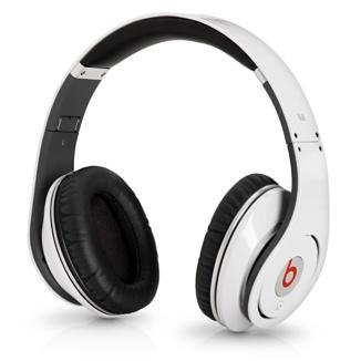 Monster Beats Studio Headphones by Dr. Dre in White