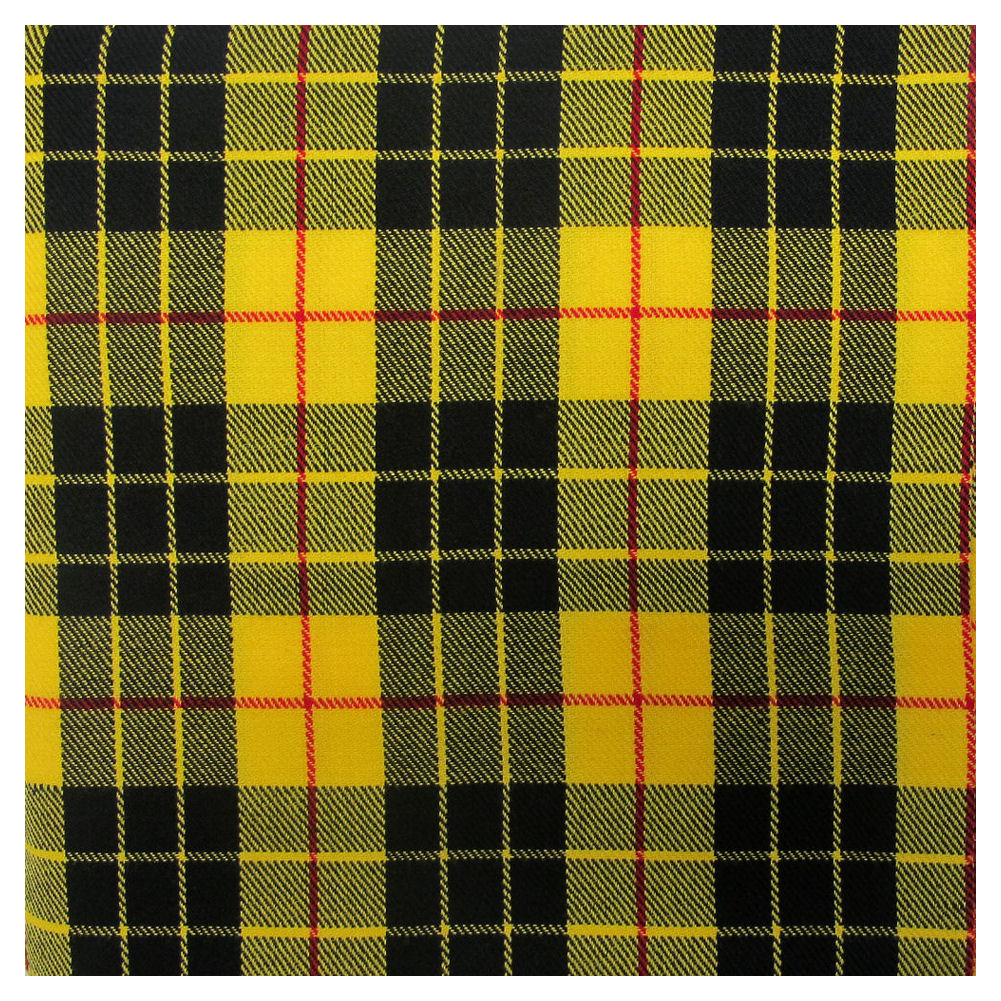 Tartan Plaid Fabric Material Cloth 106 X 53 268x135cm