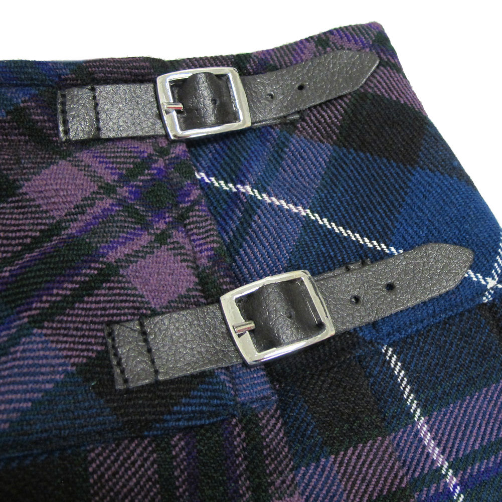 "Tartanista 16.5/"" Tartan Mini Kilt Skirt Free Pin 6-28"
