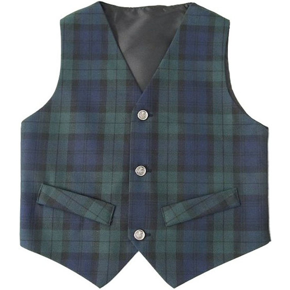 tartanista boys tartan plaid waistcoat vest age 1 6. Black Bedroom Furniture Sets. Home Design Ideas