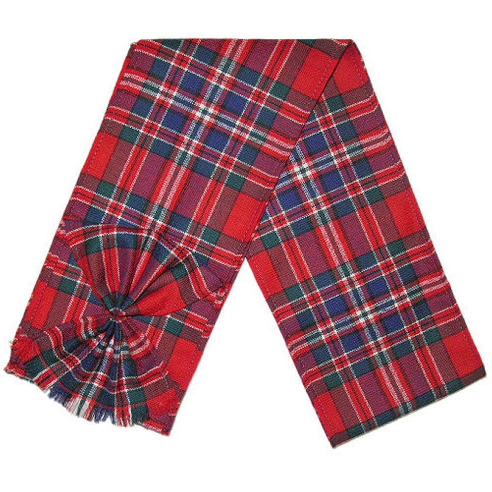 Mini-fascia-scozzese-con-rosetta-100-lana-112cm-x-12-7cm