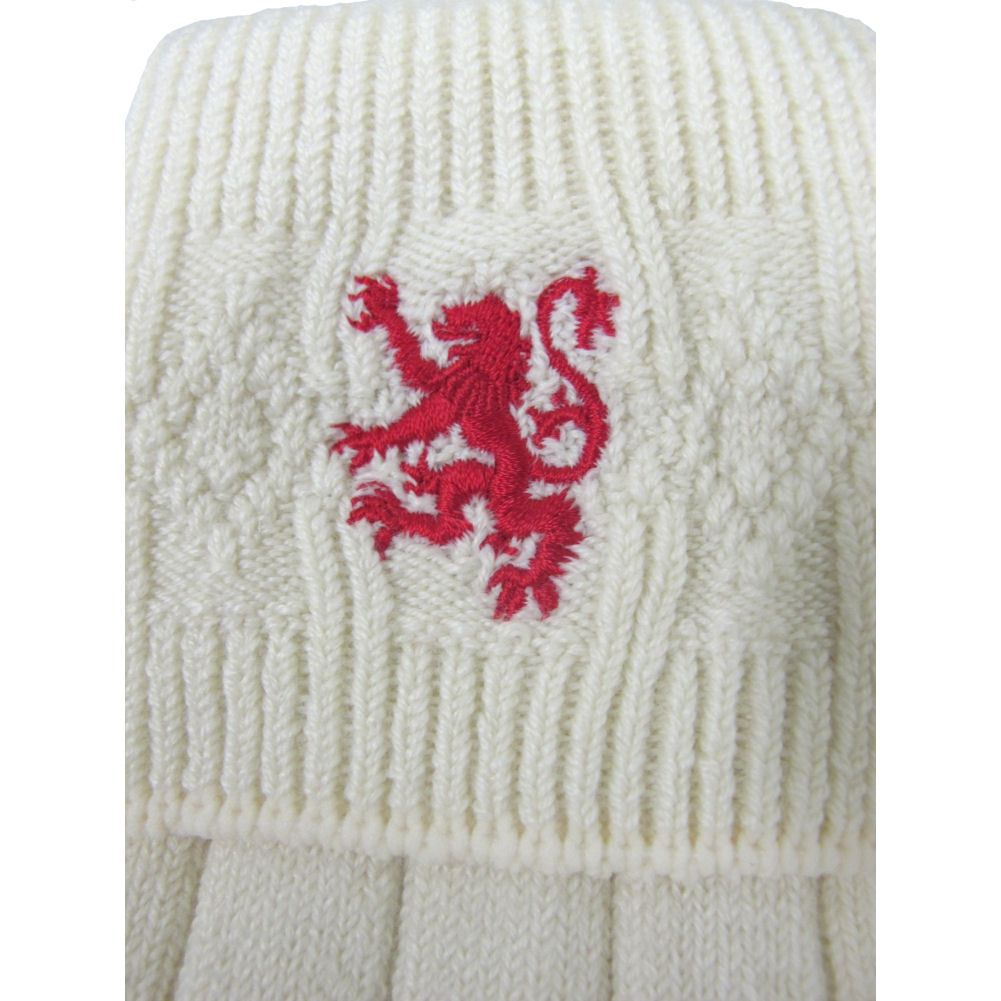 Brewin Mens Scottish Lion Rampant Embroidered Kilt Hose//SocksMade In US W