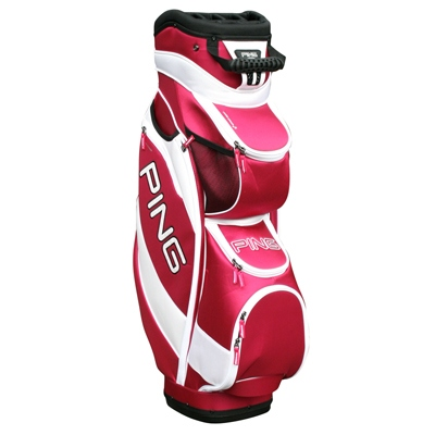 Wonderful Sun Mountain 2013 Womens Diva Golf Cart Bag Storm PlaidPink At