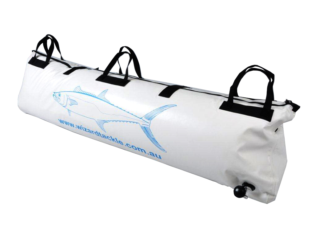 Wizard insulated fish bag 1500 x 500 x 300 ebay for Fish in a bag