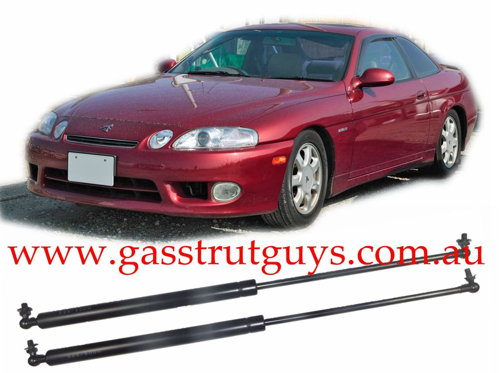 GAS-STRUTS-SUIT-TOYOTA-LEXUS-SOARER-BONNET-Z30-1991-TO-2000-BRAND-NEW-PAIR