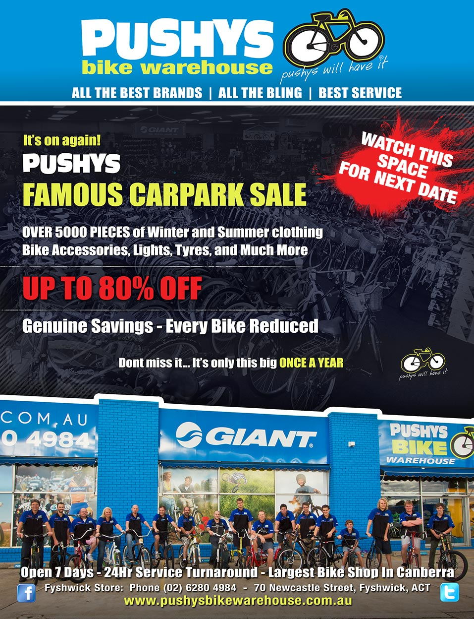 Pushys Bike Warehouse