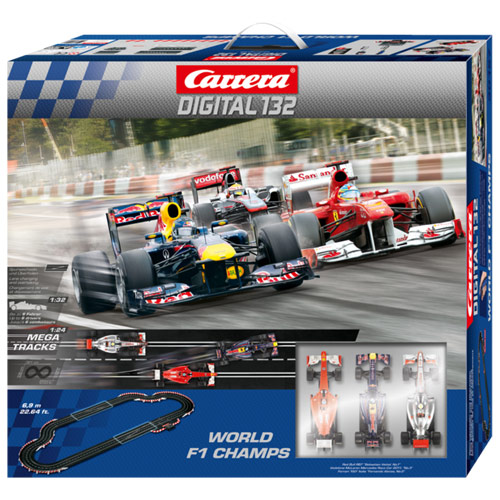 carrera digital 132 world f1 champs boxed race set 30157. Black Bedroom Furniture Sets. Home Design Ideas