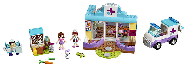Lego Juniors 10728 Mia's Vet Clinic