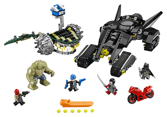 Lego 76055 Batman: Killer Croc Sewer Smash