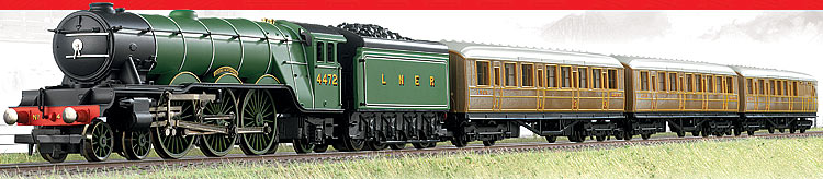 HORNBY Set R1167 Flying Scotsman Train Set with three coaches A1 ...