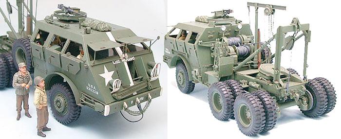 Tamiya 35244 M26 Armored Tank Recovery