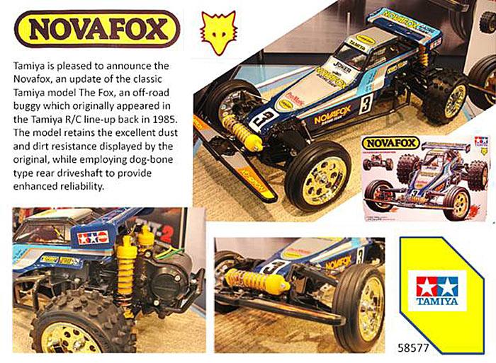 Tamiya 58577 RC NovaFox Buggy