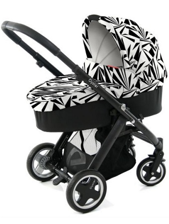 Babystyle Oyster Pushchair Pram Carrycot Vogue Collection