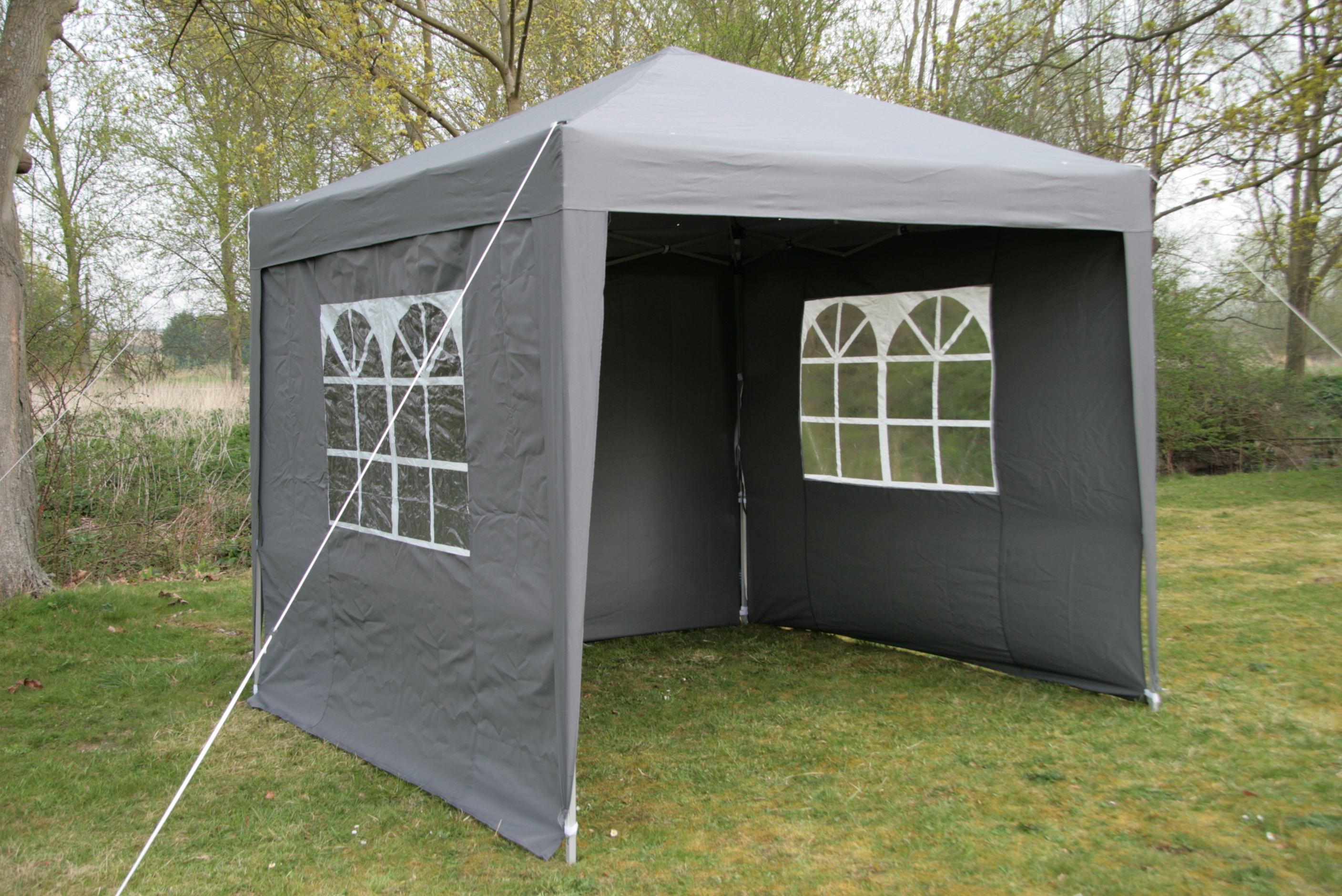 gartenzelt gazebo airwave 2 5x2 5m zum aufstellen. Black Bedroom Furniture Sets. Home Design Ideas