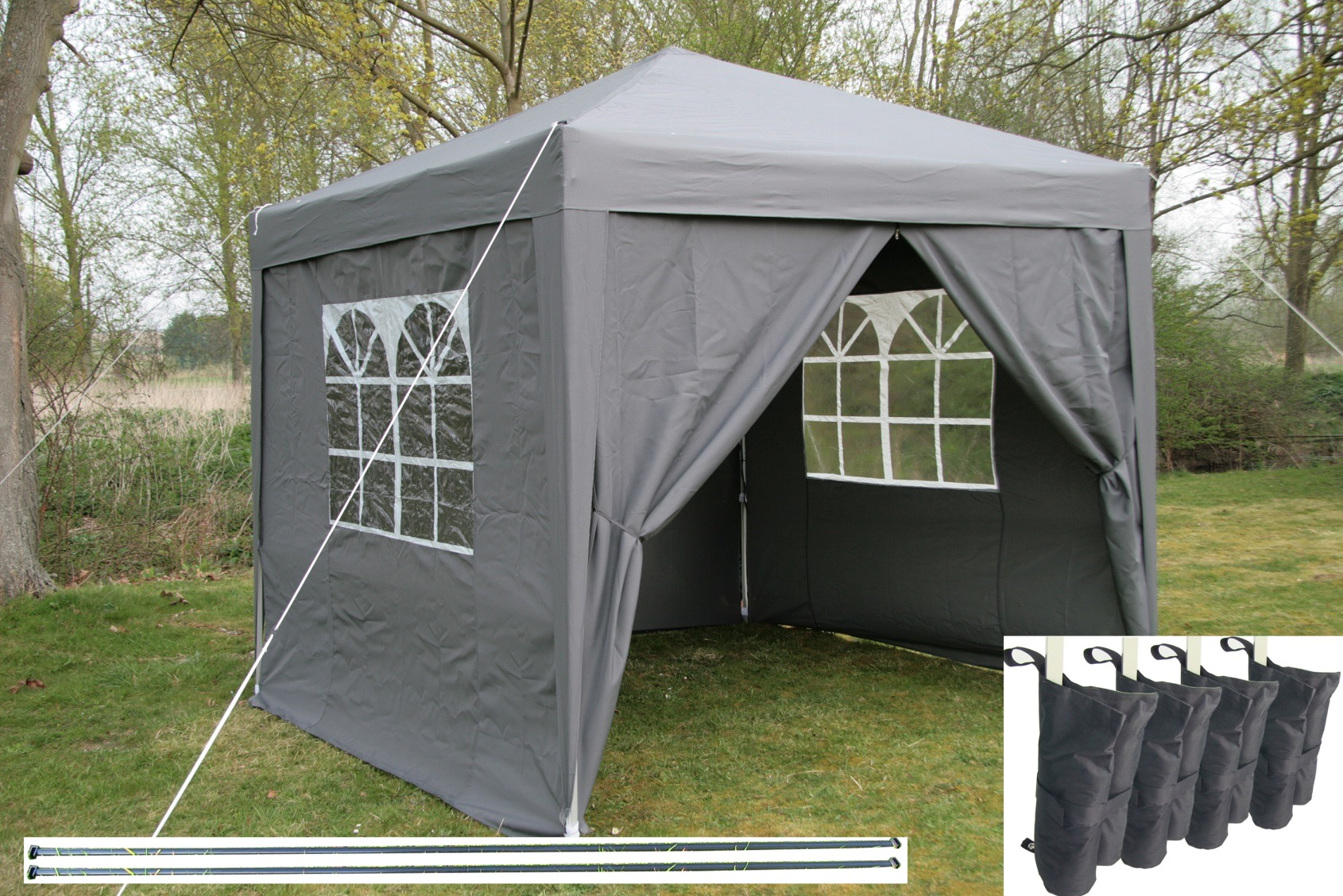 airwave pop up gazebo tanche pavillon de jardin. Black Bedroom Furniture Sets. Home Design Ideas
