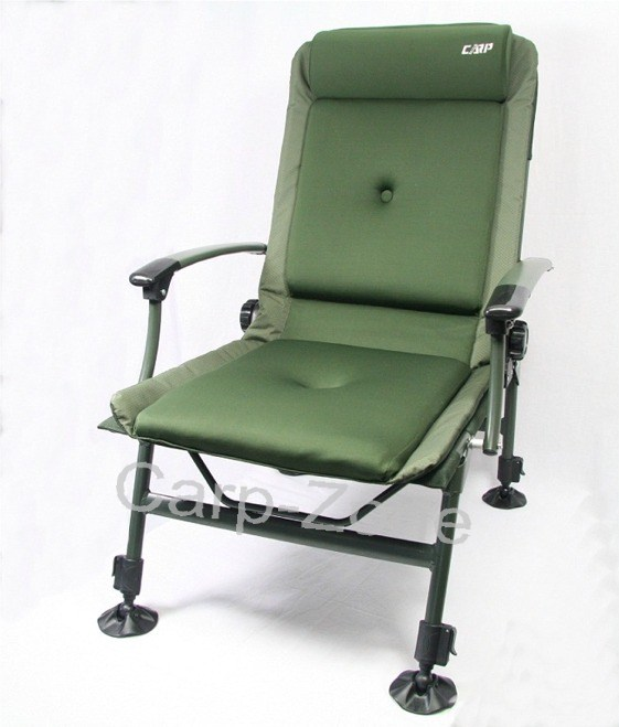 Carp Zone Carp Fishing Reclining Chair with Arm Rests