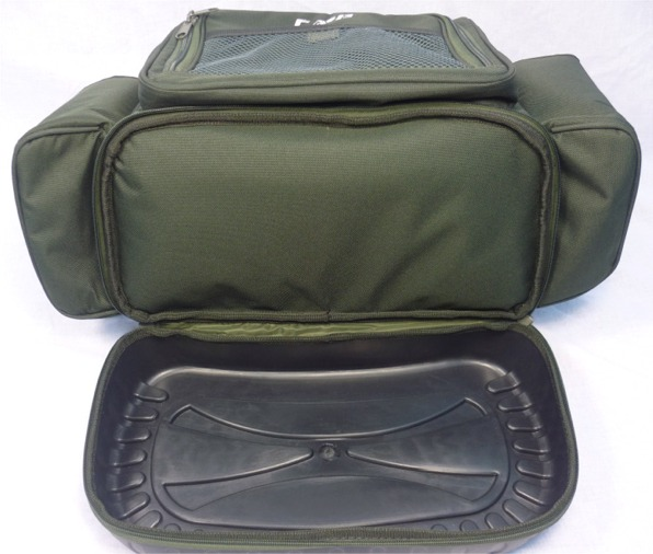 Carp zone carpers rig bag rig bag accessory bag ebay for Rigged fishing backpack